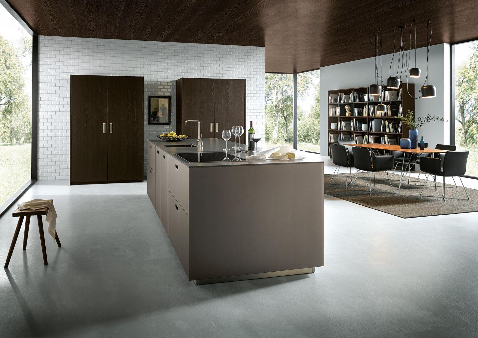 kubische formen in der k che next125 designk chen. Black Bedroom Furniture Sets. Home Design Ideas